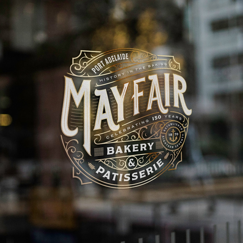 Mayfair Bakery & Patisserie Logo Design
