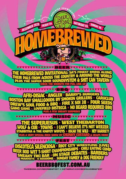 Beer & BBQ Homebrewed Festival 2020