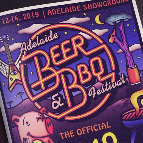 Beer & BBQ Festival 2019 Branding