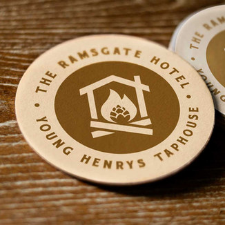 The Ramsgate Hotel Taphouse Logo Design