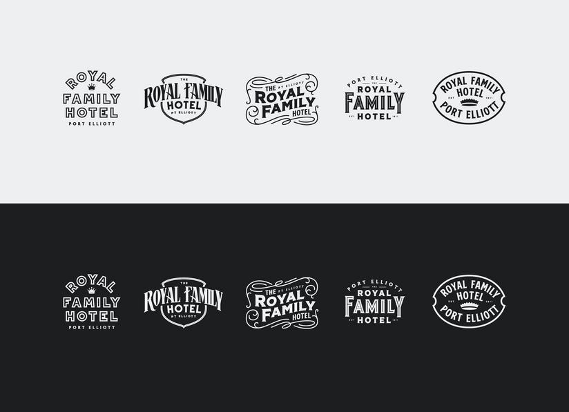 The Royal Family Hotel Logo