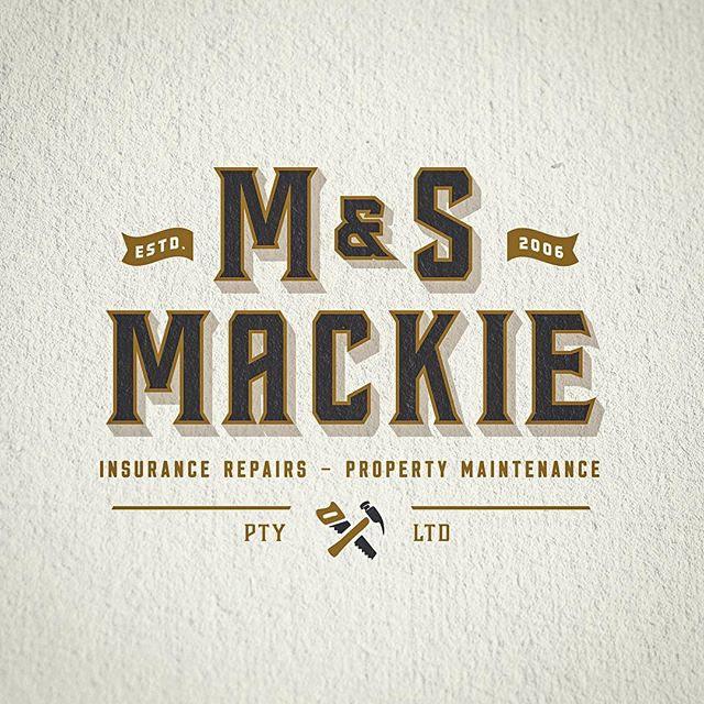 M&S Mackie Logo Design