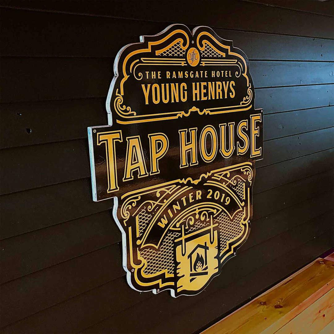 Tap House Logo Design