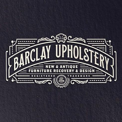 Barclay Upholstery Logo Design