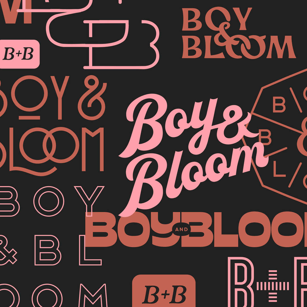 Boy And Bloom Logo Design