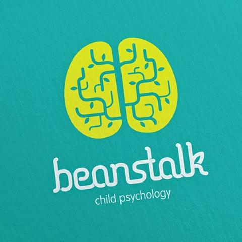 Beanstalk Child Psychology Logo Design