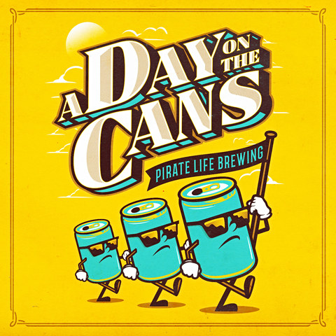A Day on the Cans Poster Design
