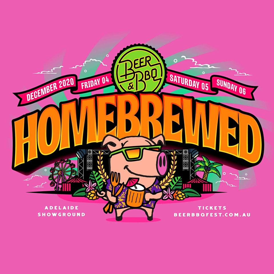 Beer & BBQ Homebrewed Festival Branding