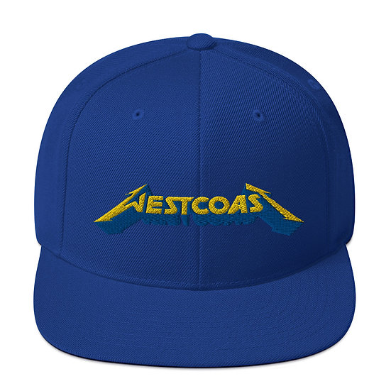 West Coast Snapback Hat