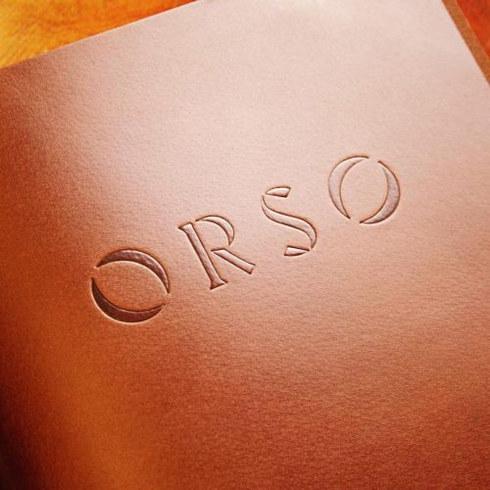 Orso Restaurant Branding