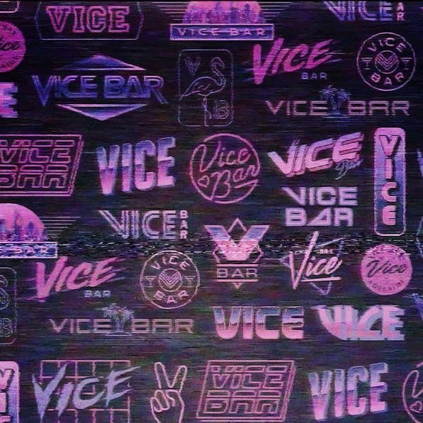 Vice Bar Branding