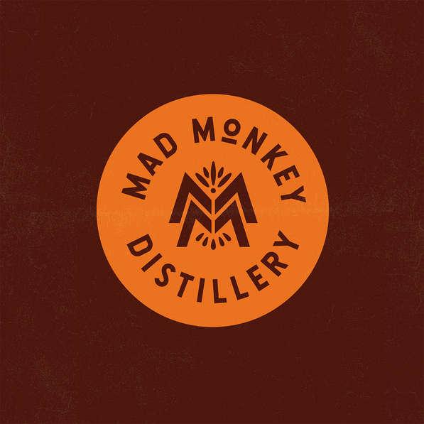 Mad Monkey Distillery Branding