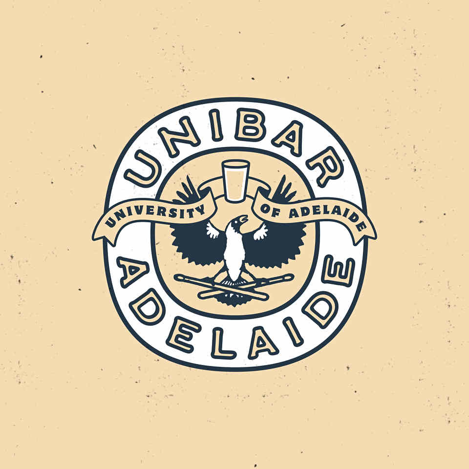 Adelaide Uni Bar Logo Design