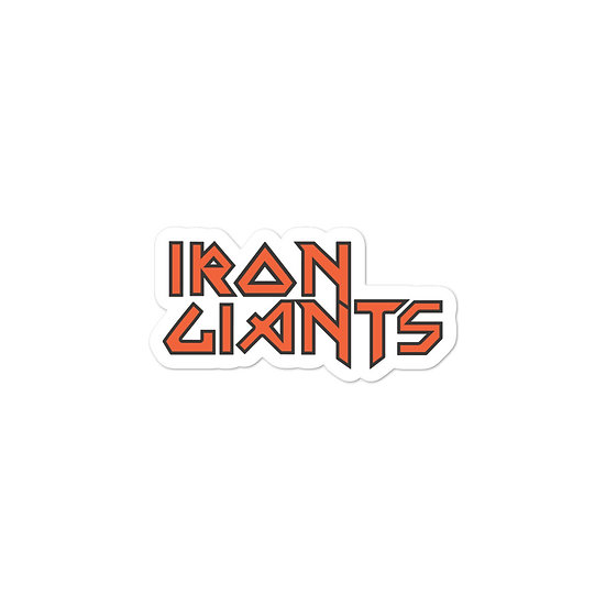 Iron Giants Bubble-free stickers