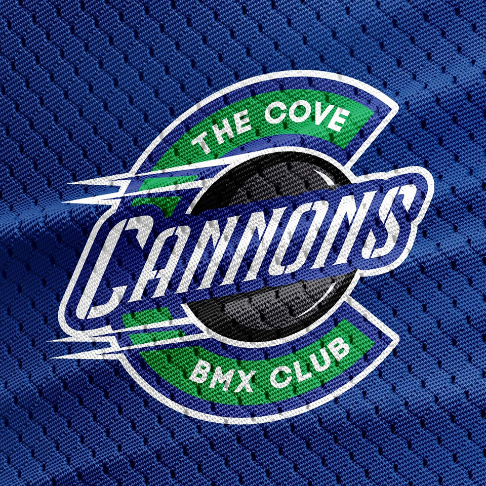 Cove Cannons BMX Club Logo Design