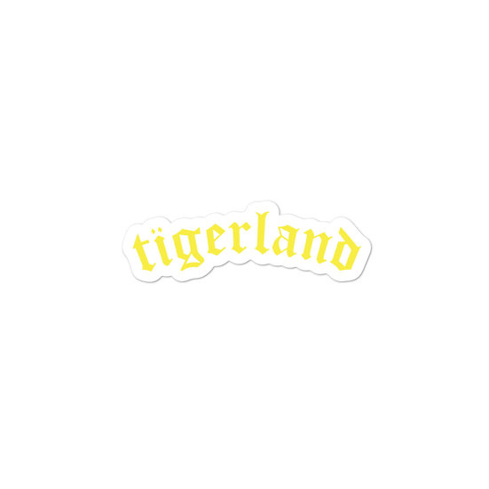 Tigerland Bubble-free stickers