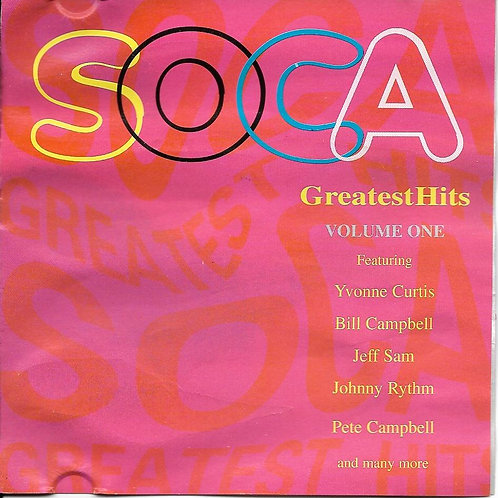 SOCA GREATEST HITS VOLUME ONE