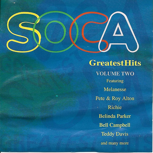 SOCA GREATEST HITS VOLUME TWO