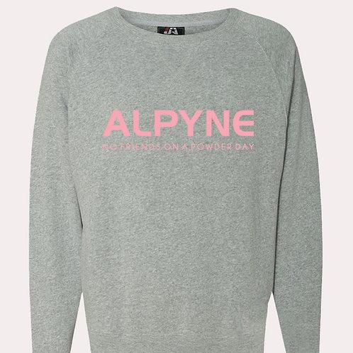 ALPYNE LODGE DAYZ CREW NECK SWEATSHIRT
