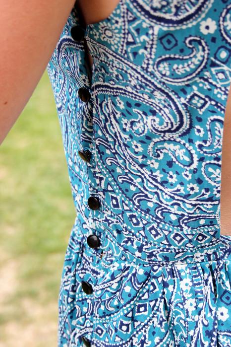 Cut-out summer dress