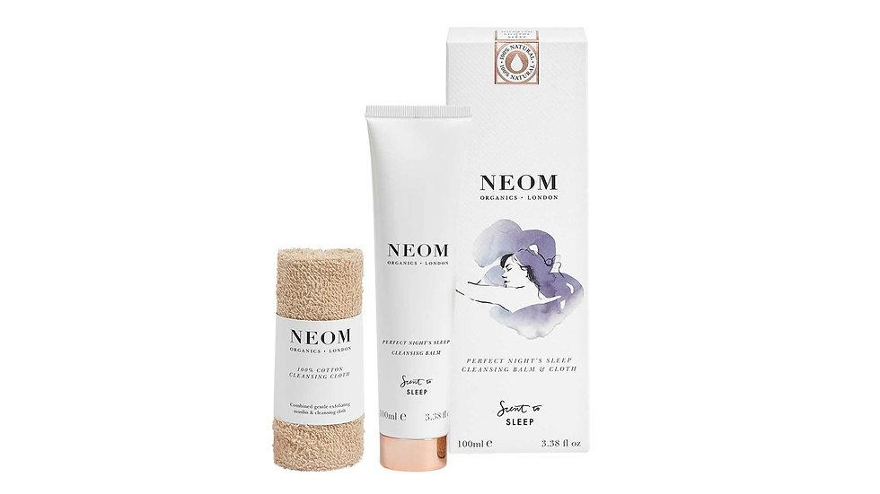 Neom 舒緩恬睡卸粧霜 + 100% 純棉卸粧布