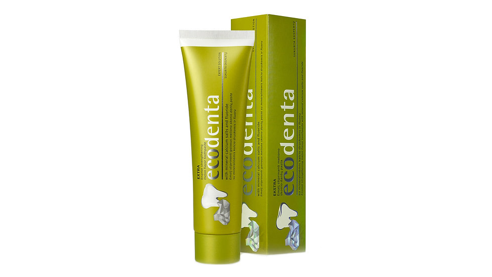 Ecodenta 強健珐瑯質牙膏 (哈密瓜味)