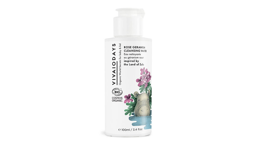 Vivaiodays 有機玫瑰天竺葵温和潔膚水