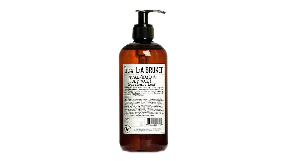 L:A Bruket 194 葡萄柚葉液體肥皂