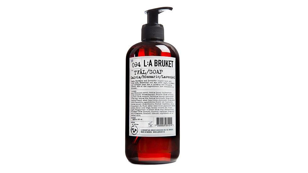 L:A Bruket 094 鼠尾草/迷迭香/薰衣草液體肥皂