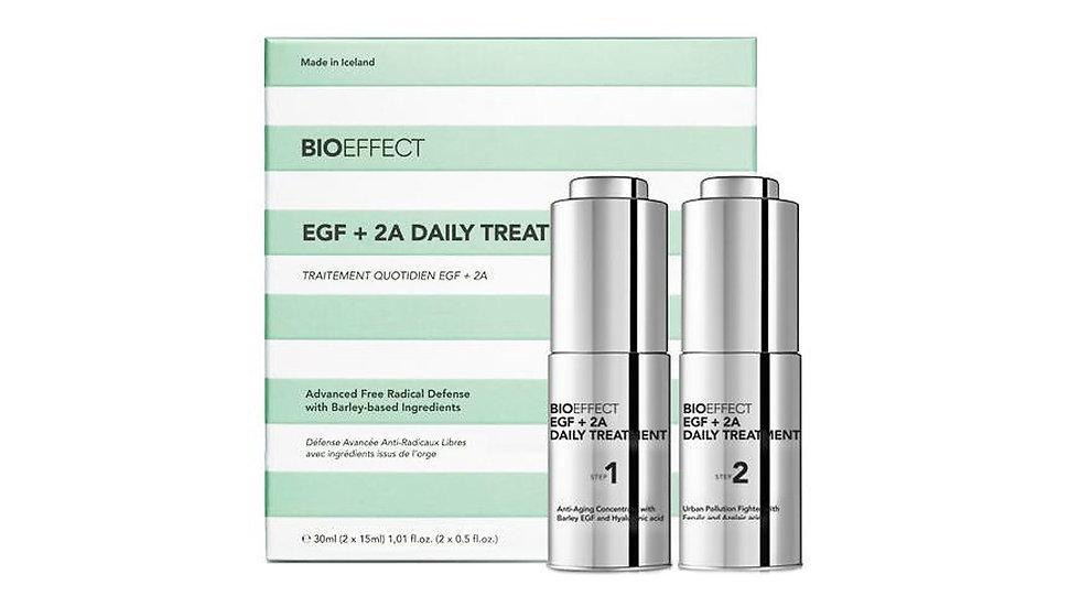 Bioeffect EGF+2A日間修復精華套裝
