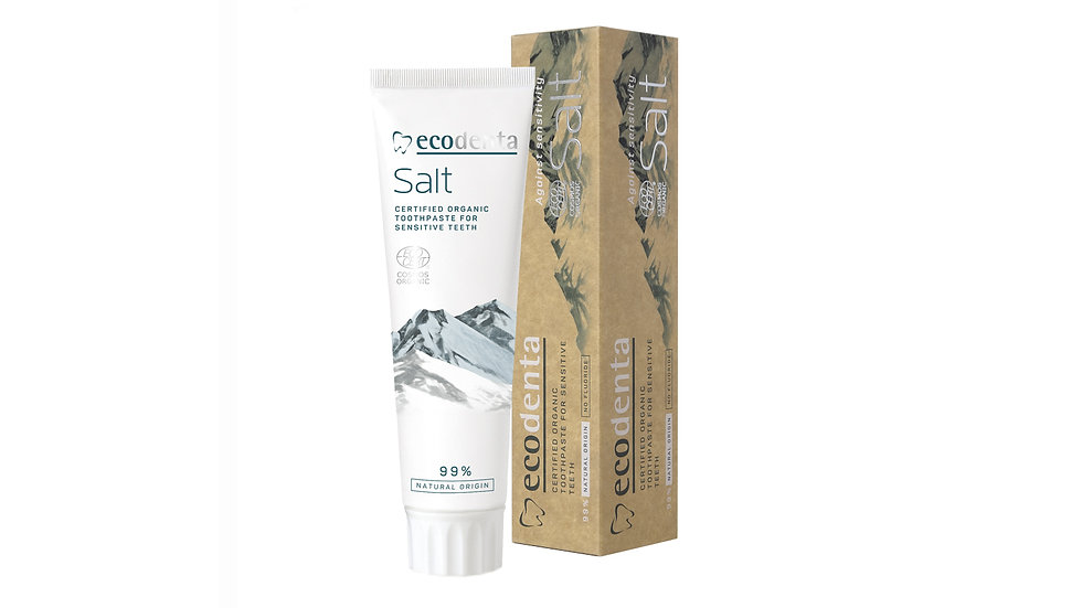 Ecodenta 有機天然鹽護齦牙膏