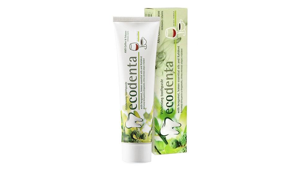 Ecodenta 有機天然美白去漬牙膏