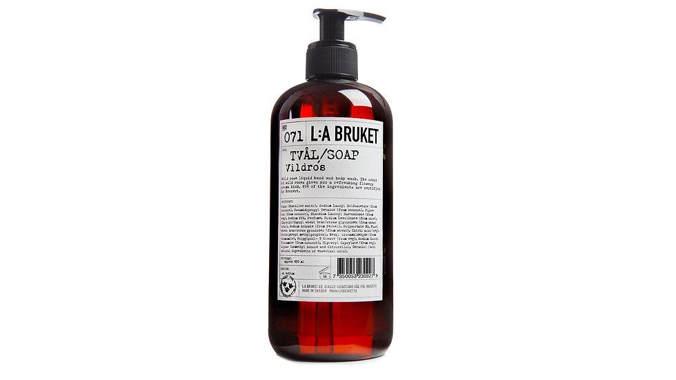 L:A Bruket 071 野玫瑰液體肥皂