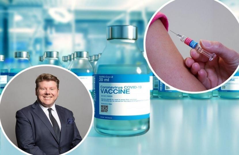 Dean Russell MP Watford - Covid-19 vaccine