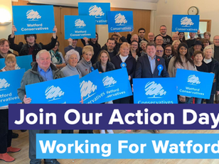 Action Day: Join Us In Watford At 4pm on Friday 15th and Saturday 16th November