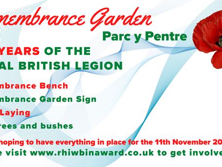 Remembrance Garden - Parc y Pentre, Rhiwbina
