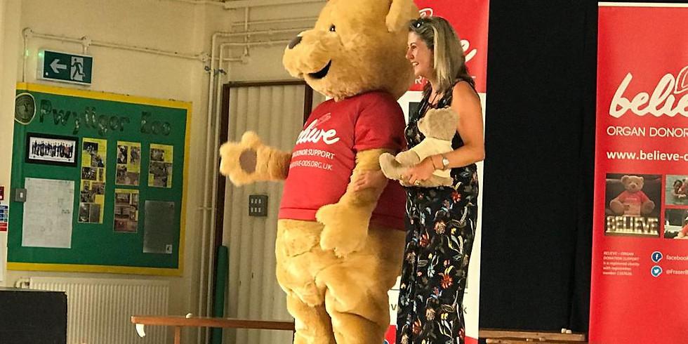 Win a huge Teddy Bear