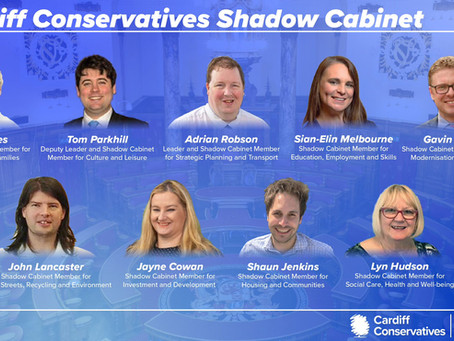 Cardiff Conservatives Shadow Cabinet