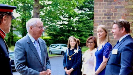 HRH The Duke of Gloucester visits One Vision in Watford