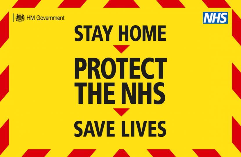 Stay Home, Protect the NHS, Save Lives - Dean Russell MP Watford