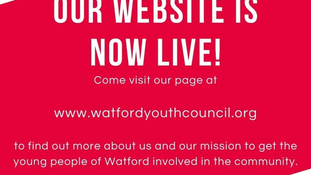 The Watford Youth Council website is now live!