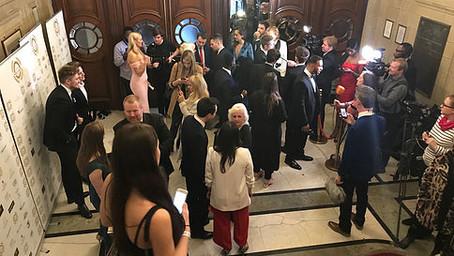 Dean Russell attends National Film Awards