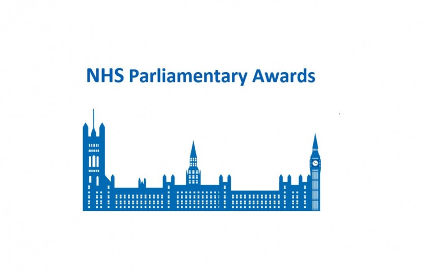 NHS Parliamentary Awards - Dean Russell MP Watford
