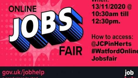 GET INVOLVED: Annual Watford Jobs Fair announced