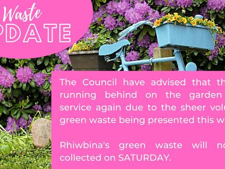Waste Delays in Rhiwbina