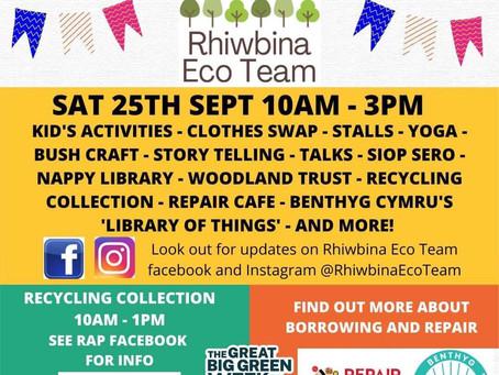 Eco Day in Parc-y-Pentre in Rhiwbina