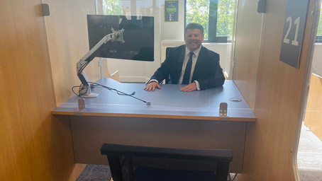 Dean attends opening of Watford's Additional Job Centre