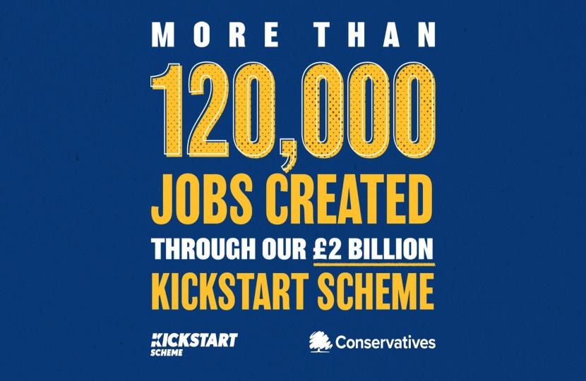 120,000 jobs created through Kickstart scheme - Dean Russell MP Watford
