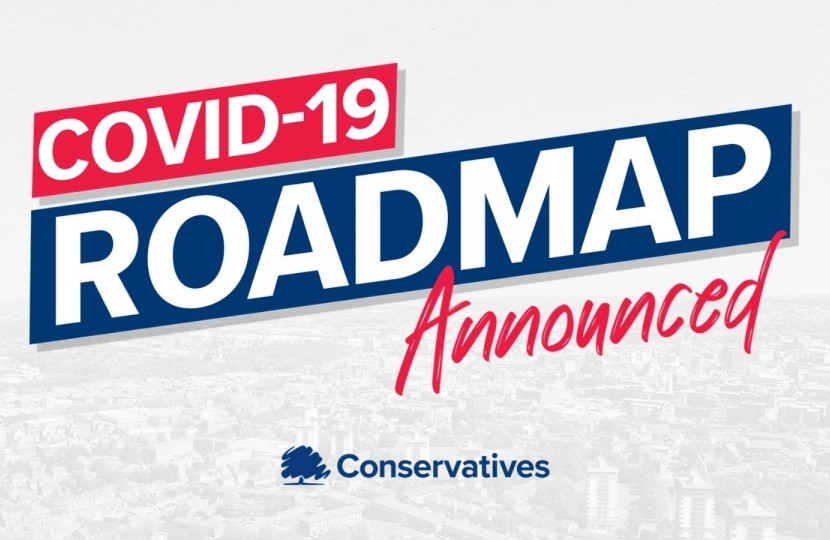 Covid-19 Roadmap Announced - Dean Russell MP Watford