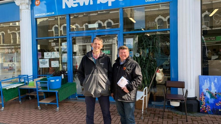 Dean Russell MP Does The Walk Of Hope with Homelessness Charity 'New Hope'